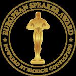 European Speaker Award 2017 1. Platz