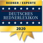 Auszeichnung al Redner und Experte beim Deutschen Rednerlexikon