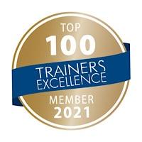 Auszzeichnung zum Top 100 Trainer in Deutschland für Egmont Roozenbeek von Speakers Excellence
